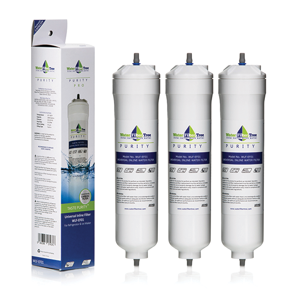 Nsf Certified Water Filter Best refrigerator Inline Filter, Ice maker and under sink ...