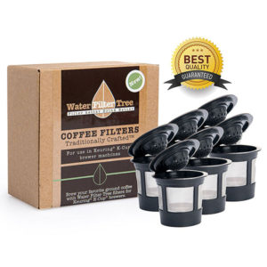 Reusable K-cup coffee filters