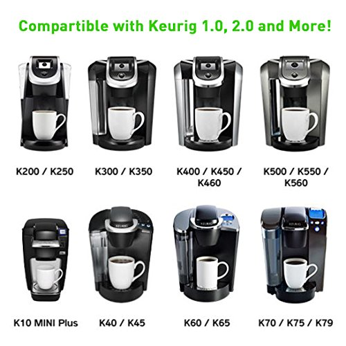 K-cup Coffee Filters Compatible Keurig 1.0 & 2.0
