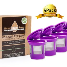 4 x Reusable K-cup Coffee Filters for keurig 1.0 & 2.0